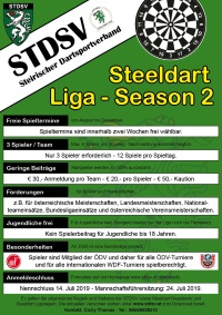 Steeldart Liga - Season 2