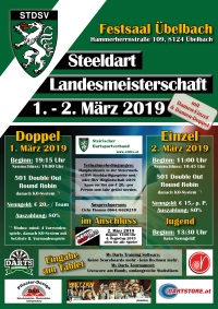 Steeldart Landesmeisterschaft 2019