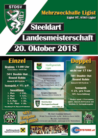 Steeldart Landesmeisterschaft 2018